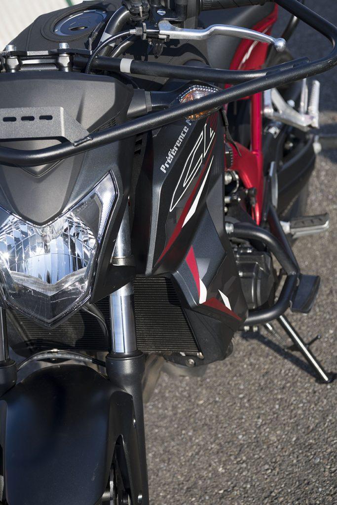 Moto ecole piste Honda habsheim